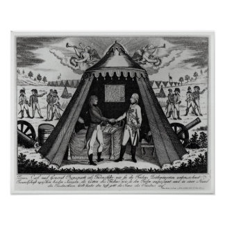 El tratado de Campo Formio, el 18 de octubre de 17 Póster