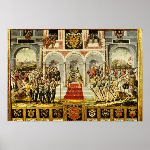 El tratado de Cateau-Cambresis Poster
