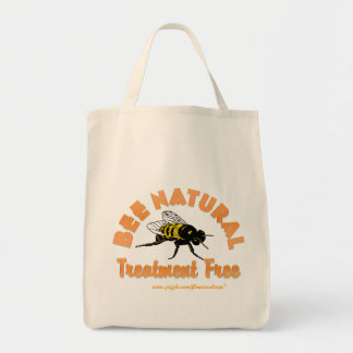 El tratamiento natural de la abeja libera bolsa tela para la compra