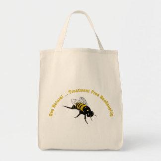 El tratamiento natural de la abeja… libera la bolsa tela para la compra
