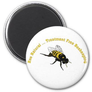 El tratamiento natural de la abeja… libera la imán redondo 5 cm