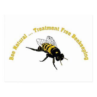 El tratamiento natural de la abeja… libera la tarjetas postales