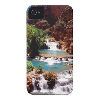 El travertino del río reúne el barranco de Havasu Case-Mate iPhone 4 Coberturas