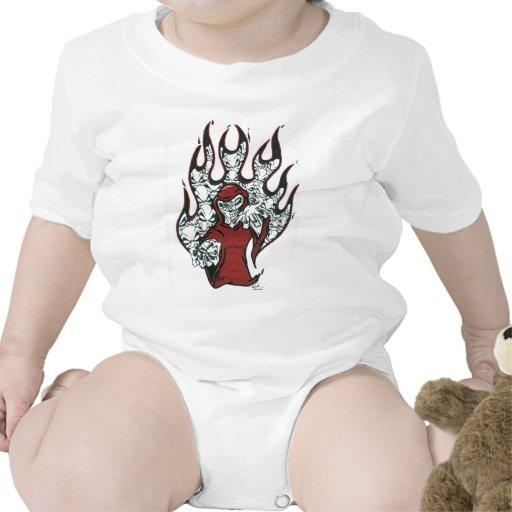 El travieso trajes de bebé