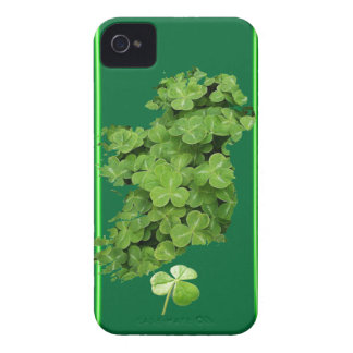 El trébol de Irlanda raya la caja intrépida de Case-Mate iPhone 4 Cárcasas