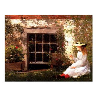 El trébol de la Cuatro-Hoja de Winslow Homer Tarjetas Postales