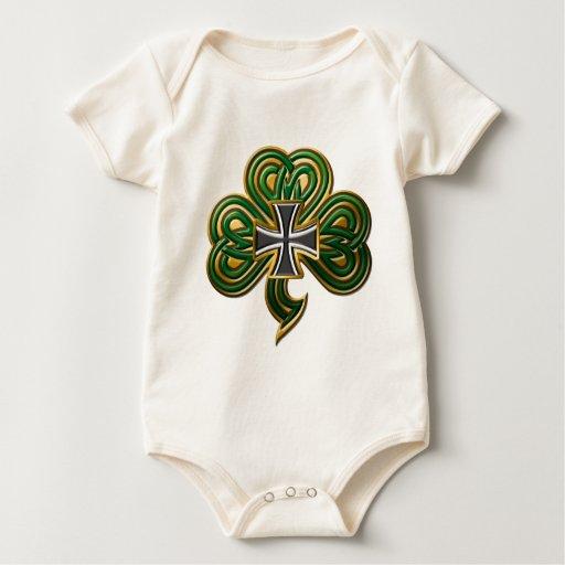 El trébol del hierro trajes de bebé