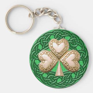 El trébol del oro en Celtic anuda el llavero
