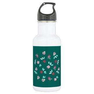 El trébol florece la botella de agua de 18 onzas