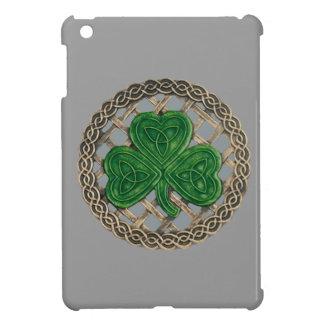 El trébol gris en Celtic anuda la mini caja del