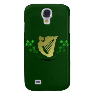 El trébol irlandés Erin va arpa irlandesa Eire de
