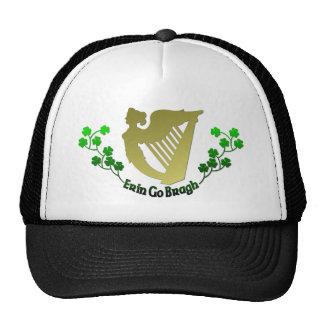 El trébol irlandés Erin va arpa irlandesa Eire de  Gorro