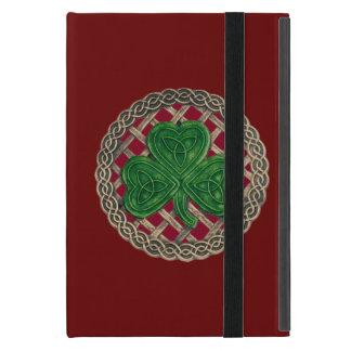 El trébol rojo de encargo en Celtic anuda la mini iPad Mini Cárcasas