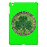El trébol verde en Celtic anuda la mini caja del i iPad Mini Coberturas
