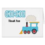 El tren de Choo Choo le agradece cardar Felicitaciones