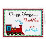 El tren de Choo Choo le agradece las tarjetas de n