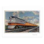 El tren de ferrocarril de Hiawatha #2 Tarjetas Postales