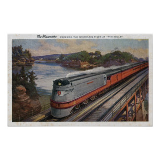 El tren de la línea aerodinámica de Hiawatha Impresiones