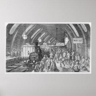 El tren de los trabajadores póster