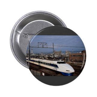 El tren de Shinkansen o de bala, Kyoto, Japón Pin