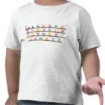 El tren del alfabeto camisetas