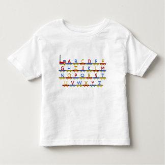 El tren del alfabeto remeras