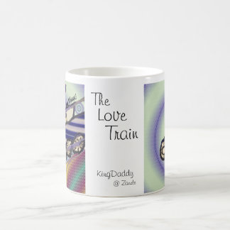 El tren del amor tazas de café