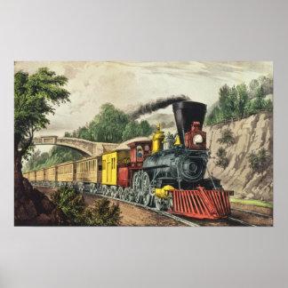 El tren expreso póster