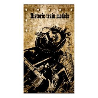 el tren histórico modela el colector/la tienda tarjetas de visita