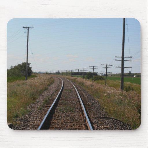 El tren sigue Mousepad Alfombrilla De Ratones