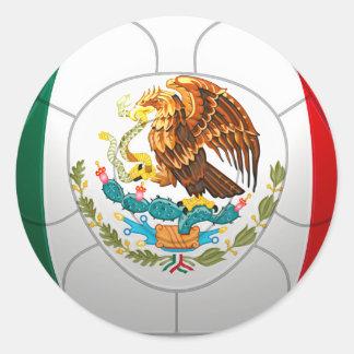 El Tri - Mexico Football Classic Round Sticker