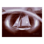 El triángulo de Bermudas Poster