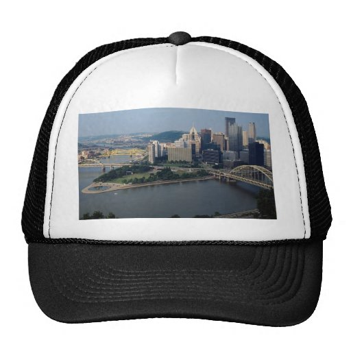 El triángulo de oro de Pittsburgh, Pennsylvania, l Gorras