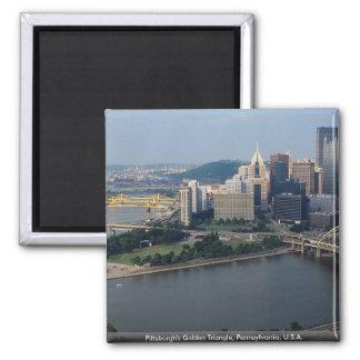 El triángulo de oro de Pittsburgh, Pennsylvania, l Iman