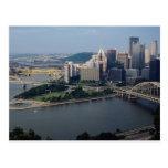 El triángulo de oro de Pittsburgh, Pennsylvania, l Tarjeta Postal