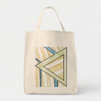 El triángulo del oro bloquea el bolso bolsa tela para la compra