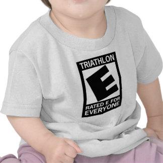 El Triathlon es E clasificada para cada uno Camisetas