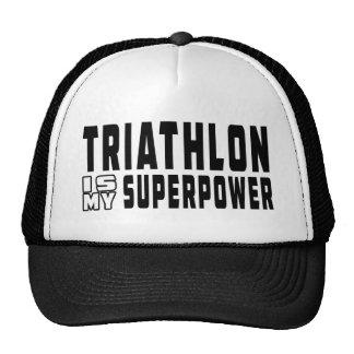 El Triathlon es mi superpotencia Gorra