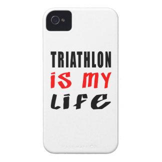 El Triathlon es mi vida iPhone 4 Cárcasas