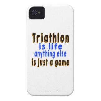 El Triathlon es vida que todo lo demás es apenas iPhone 4 Protector
