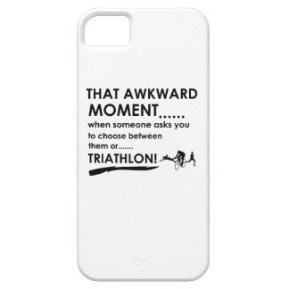 El Triathlon se divierte diseños iPhone 5 Cárcasas