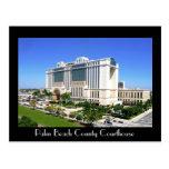 El tribunal del condado de Palm Beach - West Palm  Postales