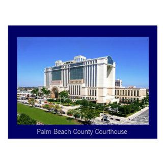 El tribunal del condado de Palm Beach - West Palm  Tarjeta Postal