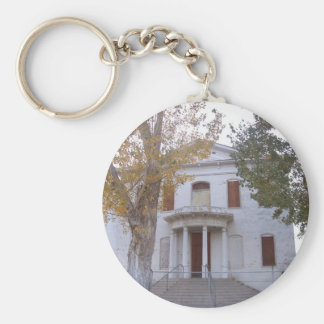 El tribunal viejo del condado de Mineral Llavero