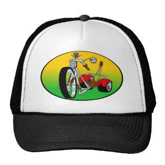 el triciclo del trike ejerció de chulo hacia fuera gorro