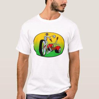 el triciclo del trike ejerció de chulo hacia fuera playera