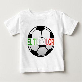 el Tricolor Mexico Soccer Team Baby T-Shirt