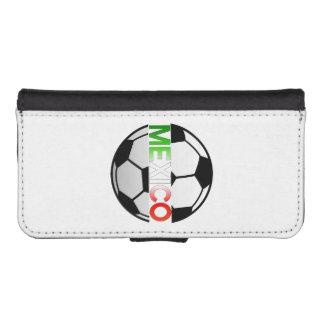 el Tricolor Mexico Soccer Team iPhone SE/5/5s Wallet Case