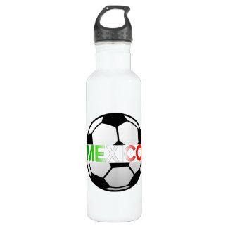 el Tricolor Mexico Soccer Team 24oz Water Bottle