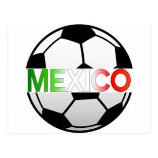 el Tricolor Mexico Soccer Team Postcard